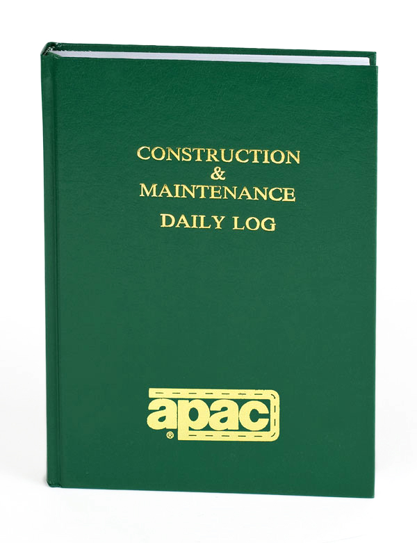 APAC Custom Imprinted Logbook