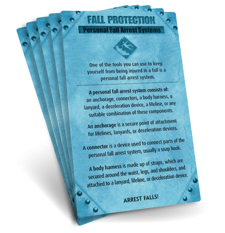 S.A.F.E. Cards - Fall Protection