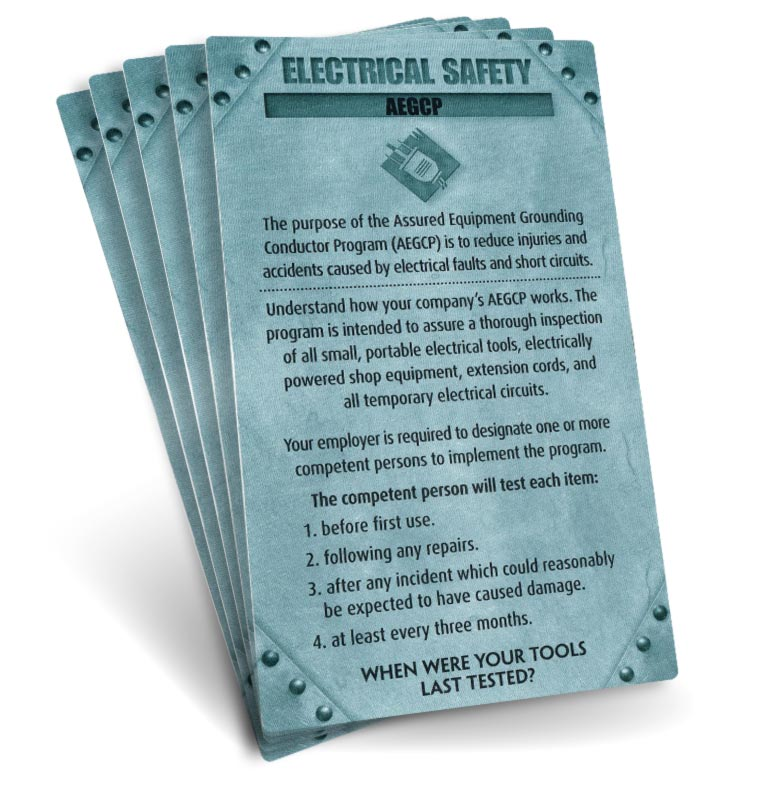 S.A.F.E. Cards - Electrical Safety