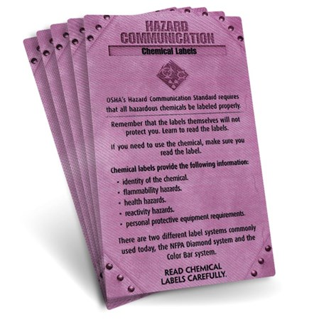 S.A.F.E. Cards - Hazard Communication